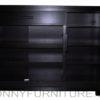 caelan shoe cabinet open