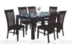 3177 dining set 6s