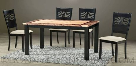 dinah marble top dining set