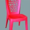 178c plastic chair red
