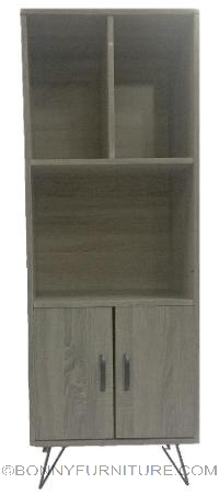 SJ-539C book shelf with cabinet
