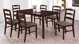 star 6-seater dining set