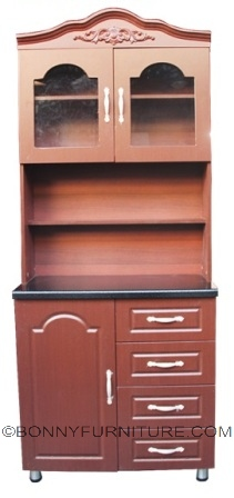 zion kitchen cabinet 2-door
