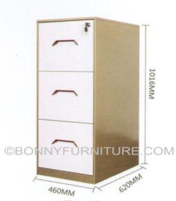 B-2 Vertical Filing Cabinet (3-Layer)