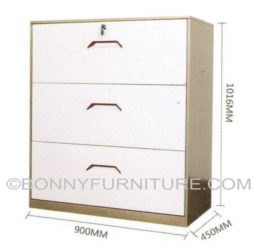 B-5 Lateral Filing Cabinet (3-Layer)