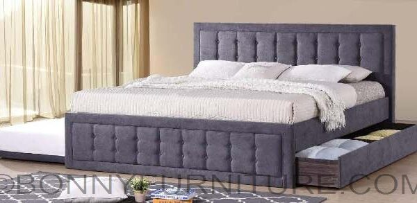 7810k Bed With Pull Out King Size Bonny Furniture