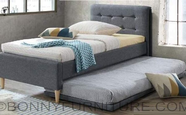 8817dv Bed With Pull Out Single Queen Size Bonny Furniture