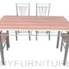 JIT-4627 dining set 4s walnut
