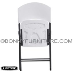 LIFETIME FOLDING CHAIR - WHITE 2810 3