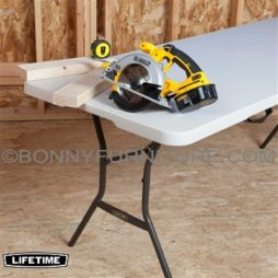 LIFETIME 6-FOOT FOLDING TABLE 3