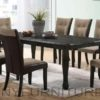 penny dining set 8seater brown