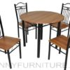 A72/B03 Dining Set 4-seater cherry