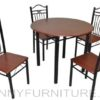 A72/B03 Dining Set 4-seater mahogany