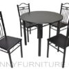 A72/B03 Dining Set 4-seater wenge
