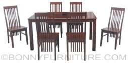 juvy dining set 6seater