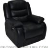stella recliner black