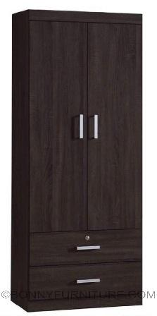 wd-19 2-door wardrobe