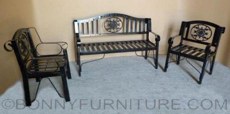 metal bench 311