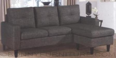 Yasi Y L532 L Shape Sofa Bonny Furniture Color Light Gray