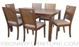 DT857-DC2321 Dining Set 6-seater